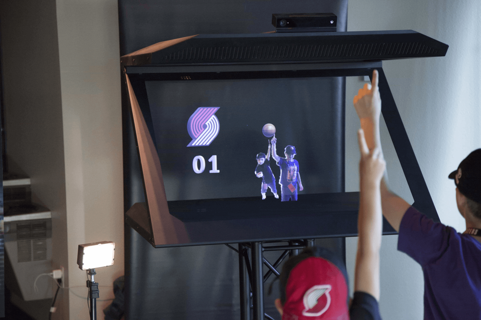 Photomaton hologramme